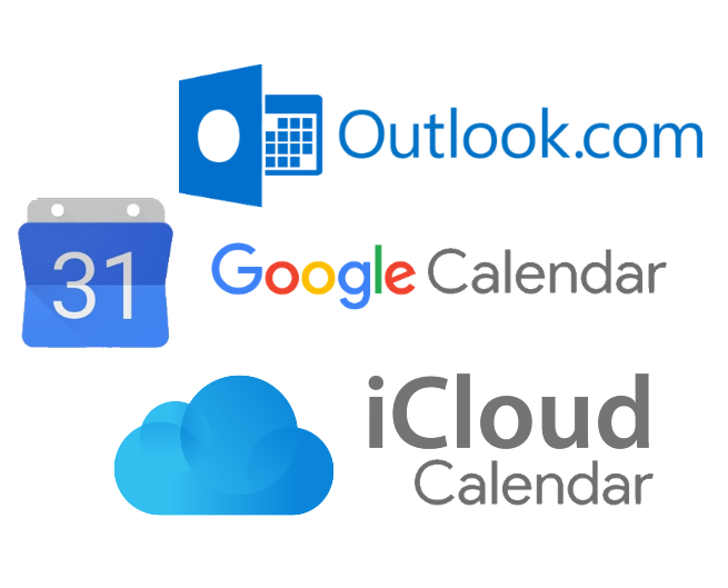 Synchronize TuCalendi with Google or Outlook